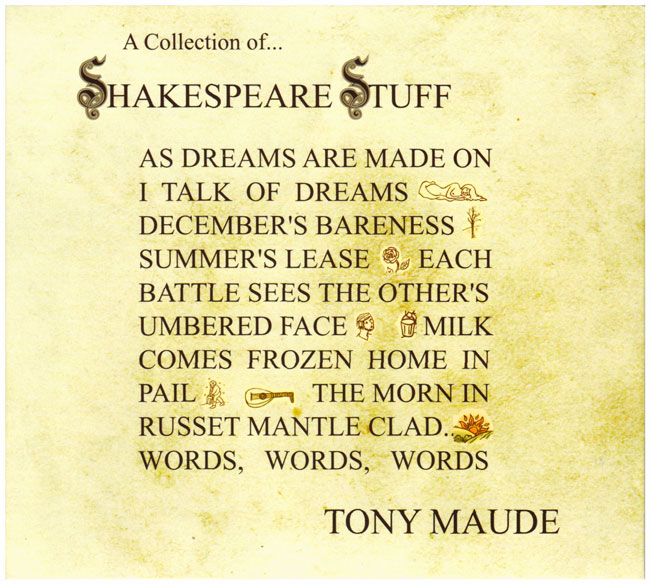 A Collection of Shakespeare Stuff - Tony Maude
